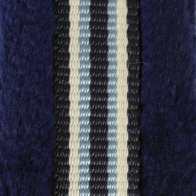 PFIFF Kunststof halster gevoerd met kunstbont