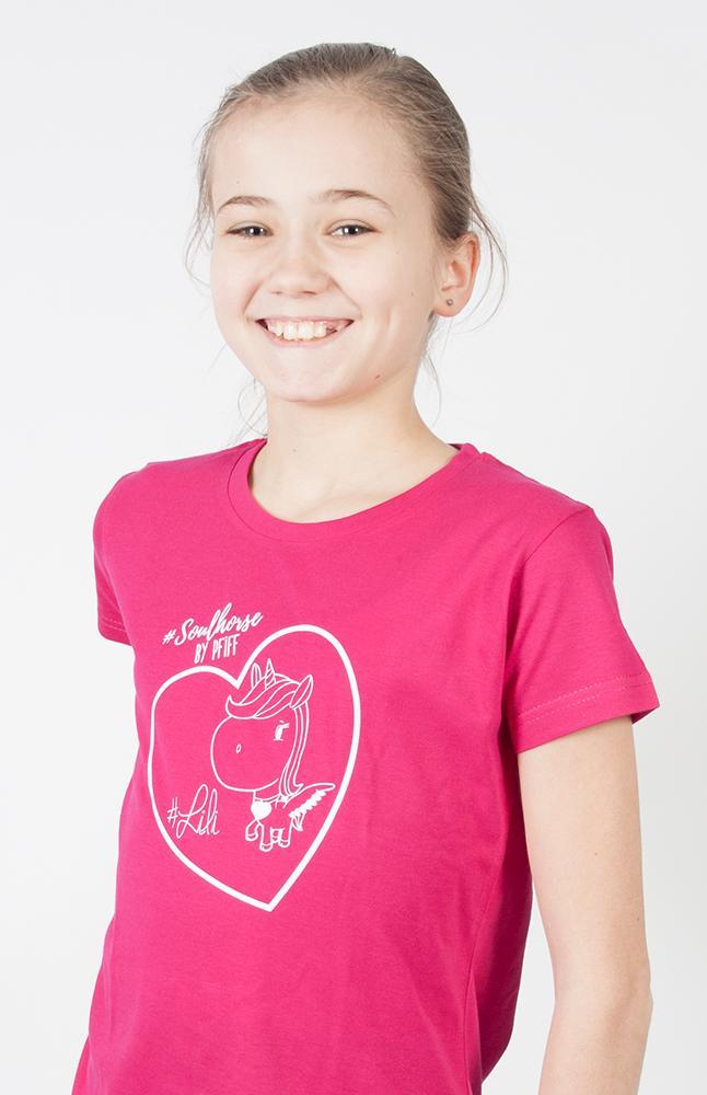PFIFF kinder t-shirt 'SOULHORSE'