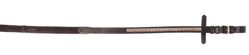 PFIFF teugels met strass-steentjes 'CASTANIA'