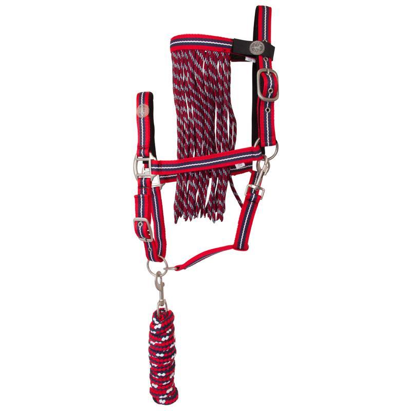 Imperial Riding Set van halster, touw en vliegenfrontdeel