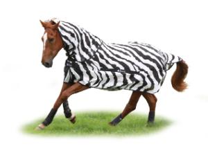 Bucas Buzz-Off Zebra & Neck