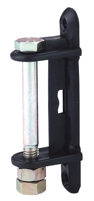 Hofman Isolator Hoek zwart voor 40 - 60 mm