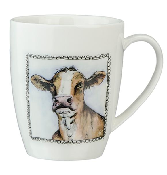 Hofman Boerenwinkel Koffiemok Koe