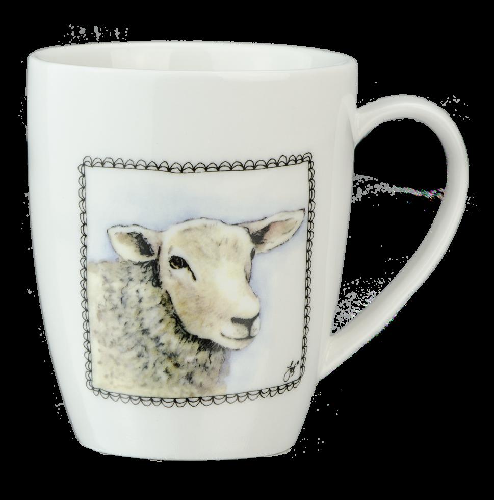Hofman Boerenwinkel Koffiemok Schaap