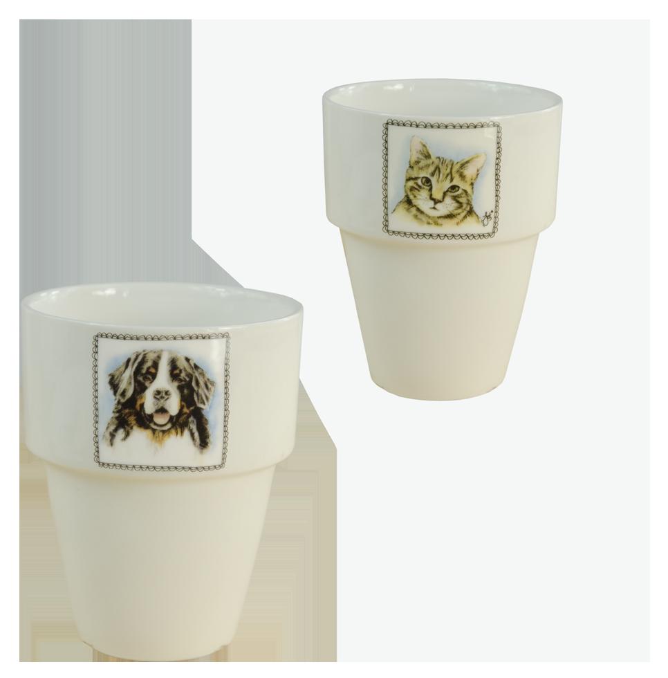Hofman Boerenwinkel Melkbeker Hond-Kat