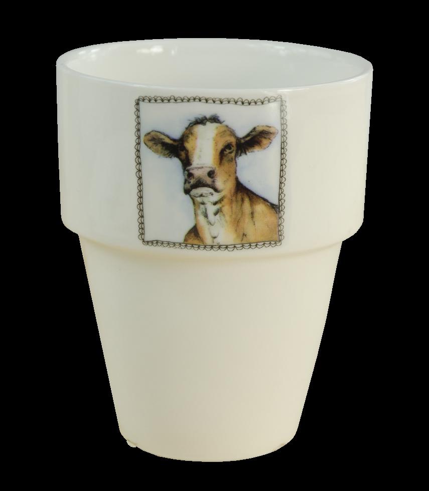 Hofman Boerenwinkel Melkbeker Koe