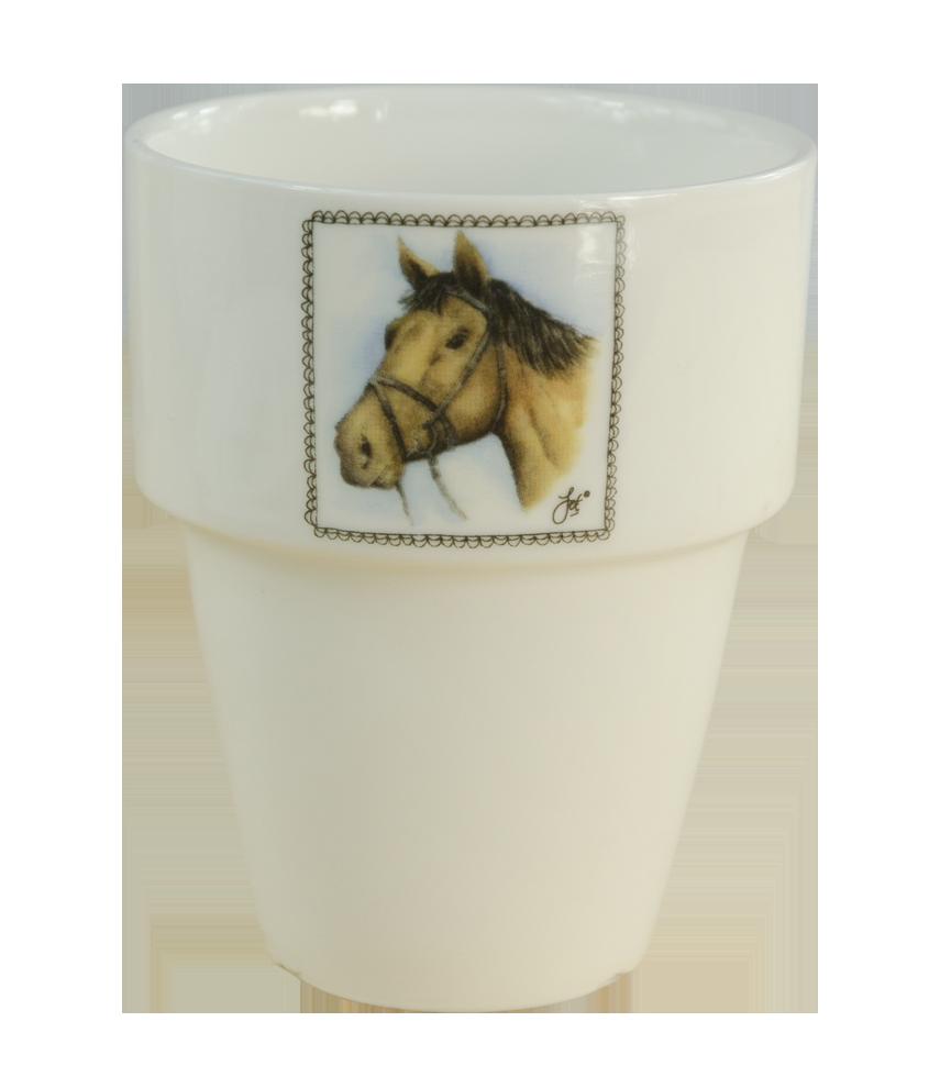 Hofman Boerenwinkel Melkbeker Paard