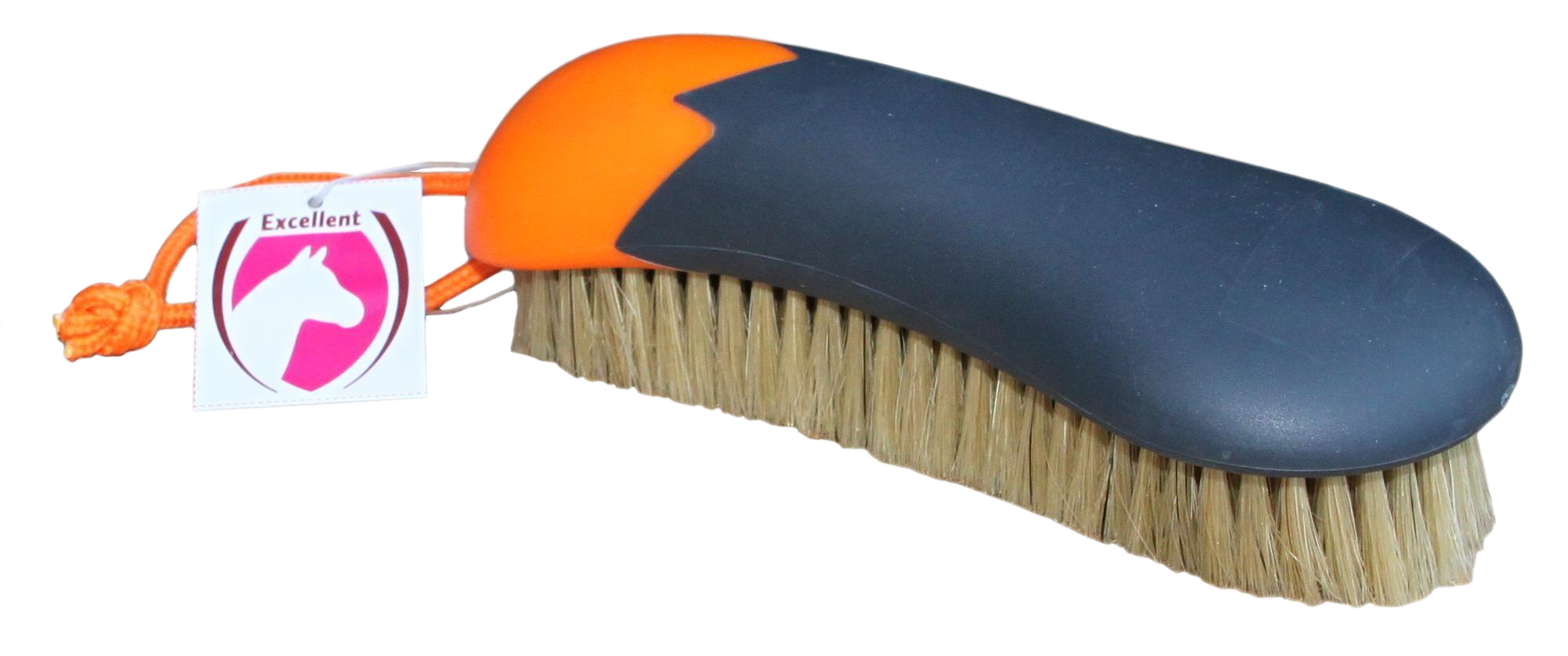 Hofman Fun huidglansborstel oranje/zwart