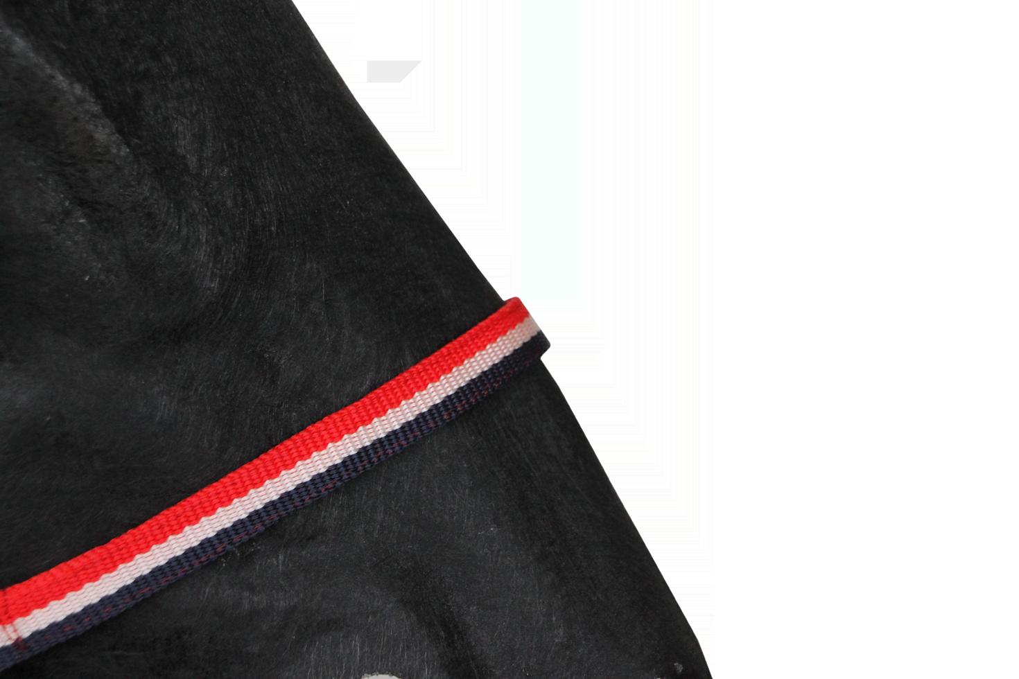 Hofman Halster Classic rood/wit/blauw