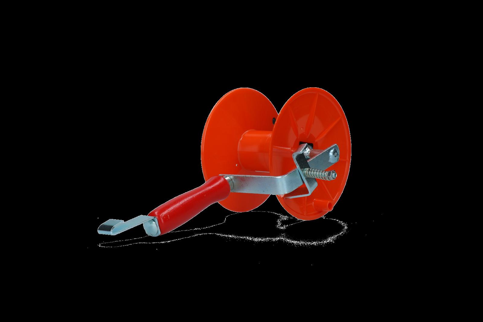 Hofman Haspel Mini met rem voor 250 m lint en 500 m draad