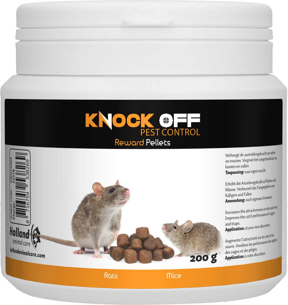 Knock Off Reward Pellets voor muizen & ratten