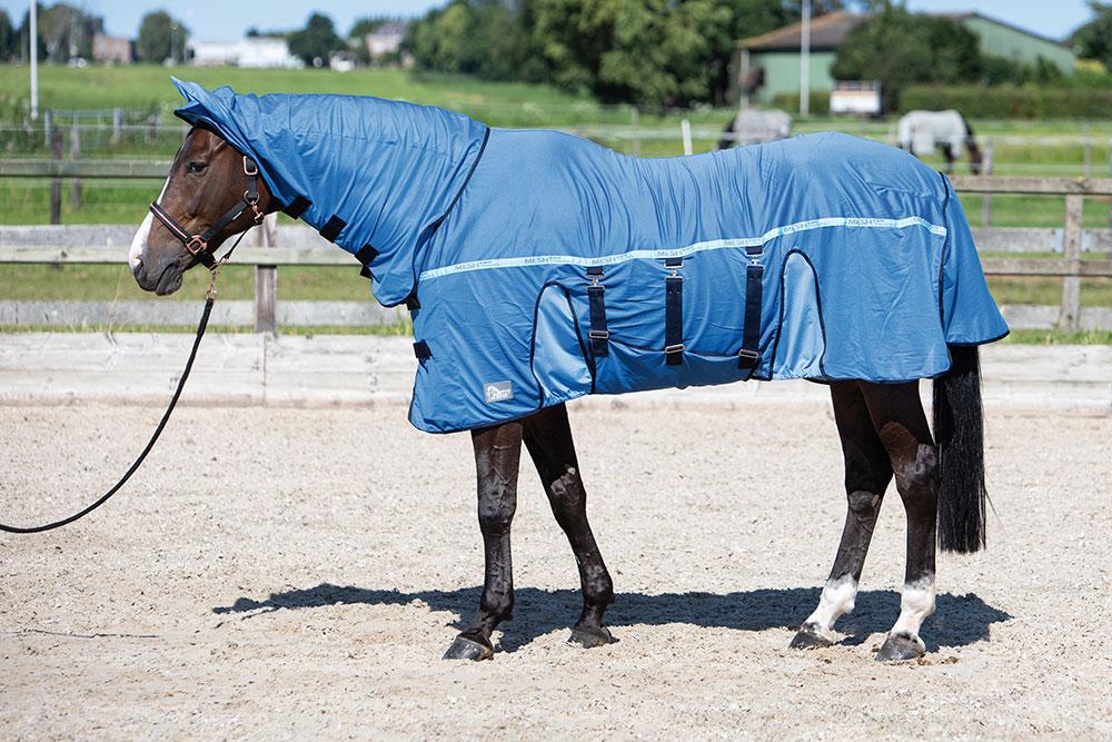 Harry's Horse Vliegendeken Mesh-Pro Belly