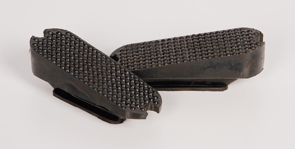 Harry's Horse Beugelzooltjes asymmetrisch zwart