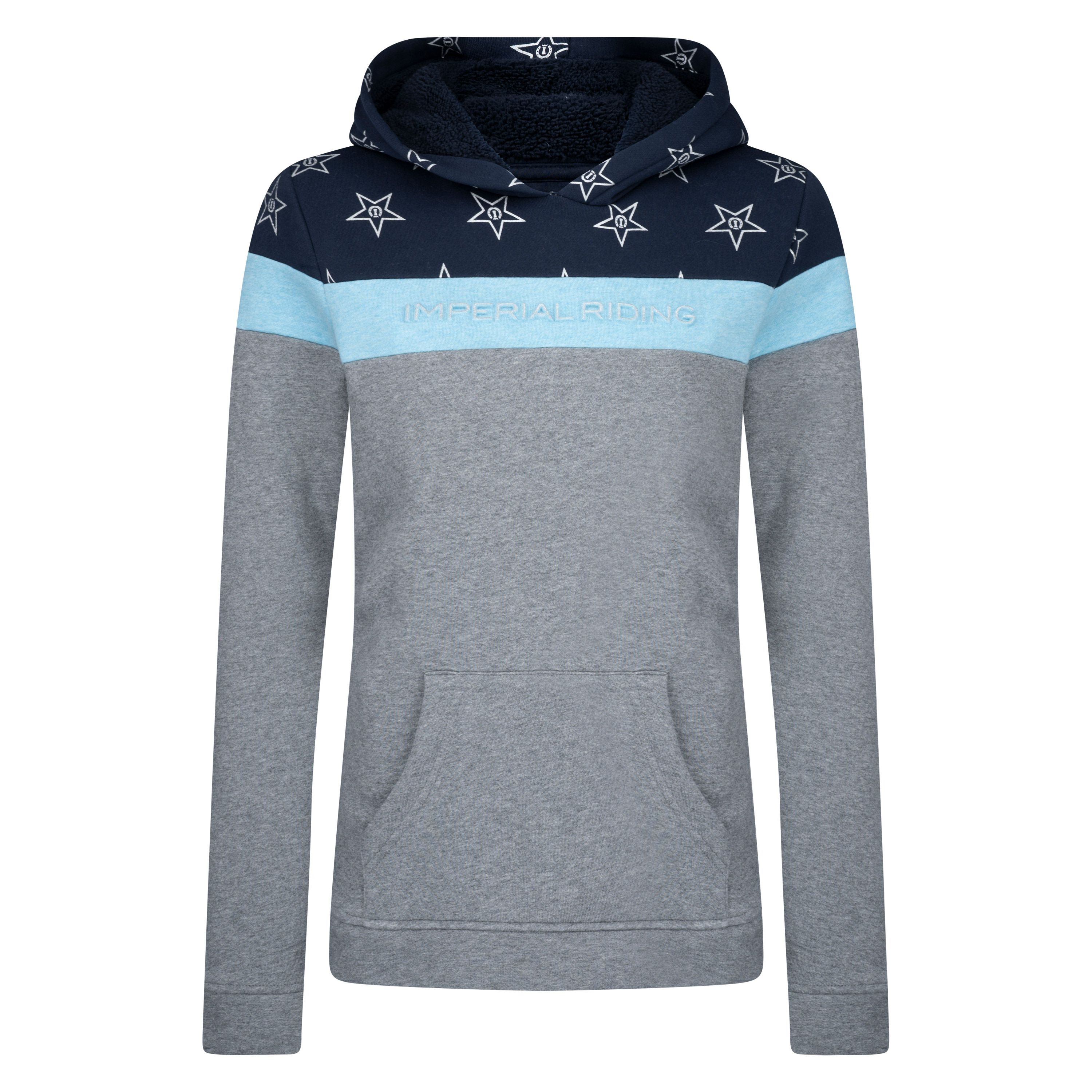 Imperial Riding sweater met capuchon IRH-dusty star