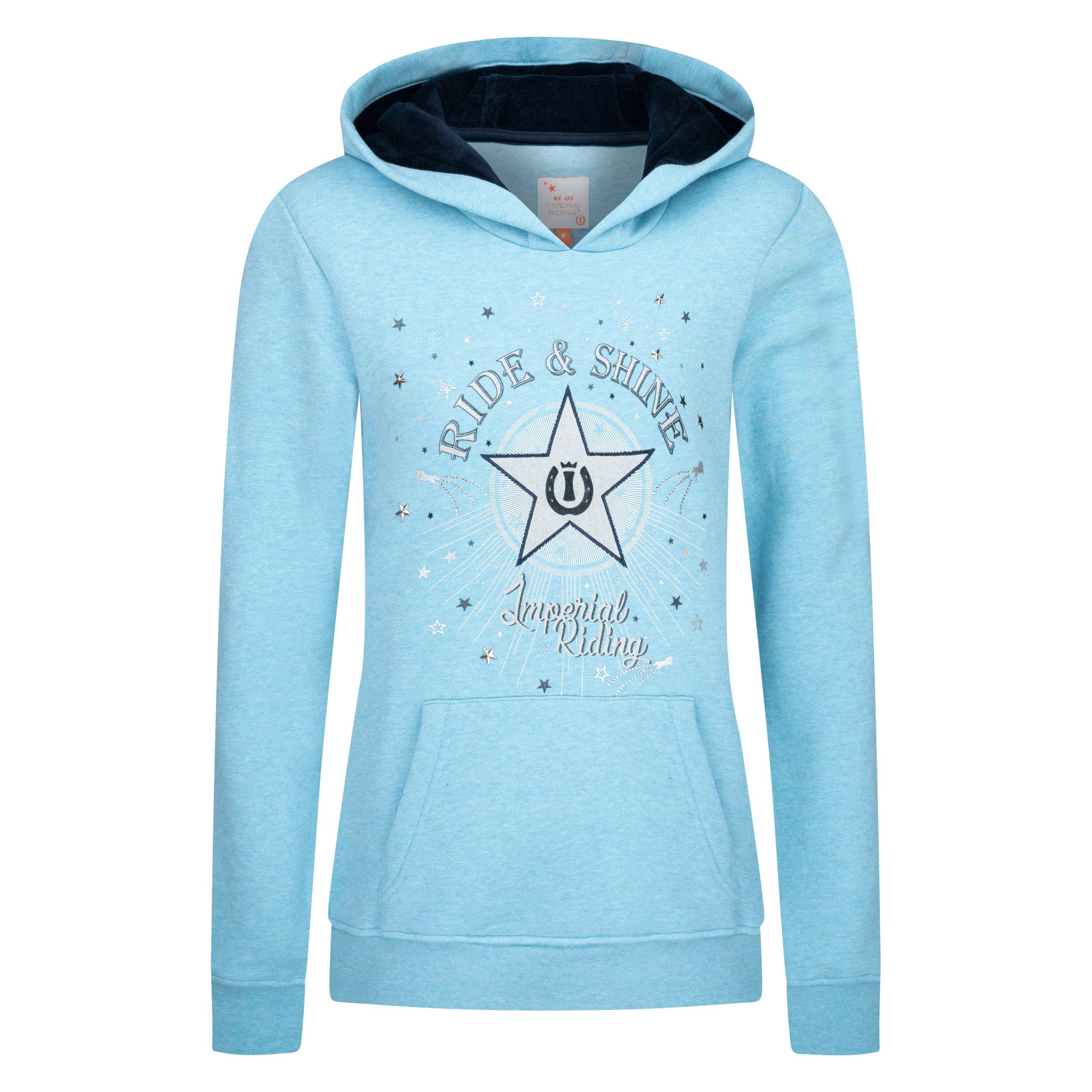 Imperial Riding sweater met capuchon IRH-'star shine'