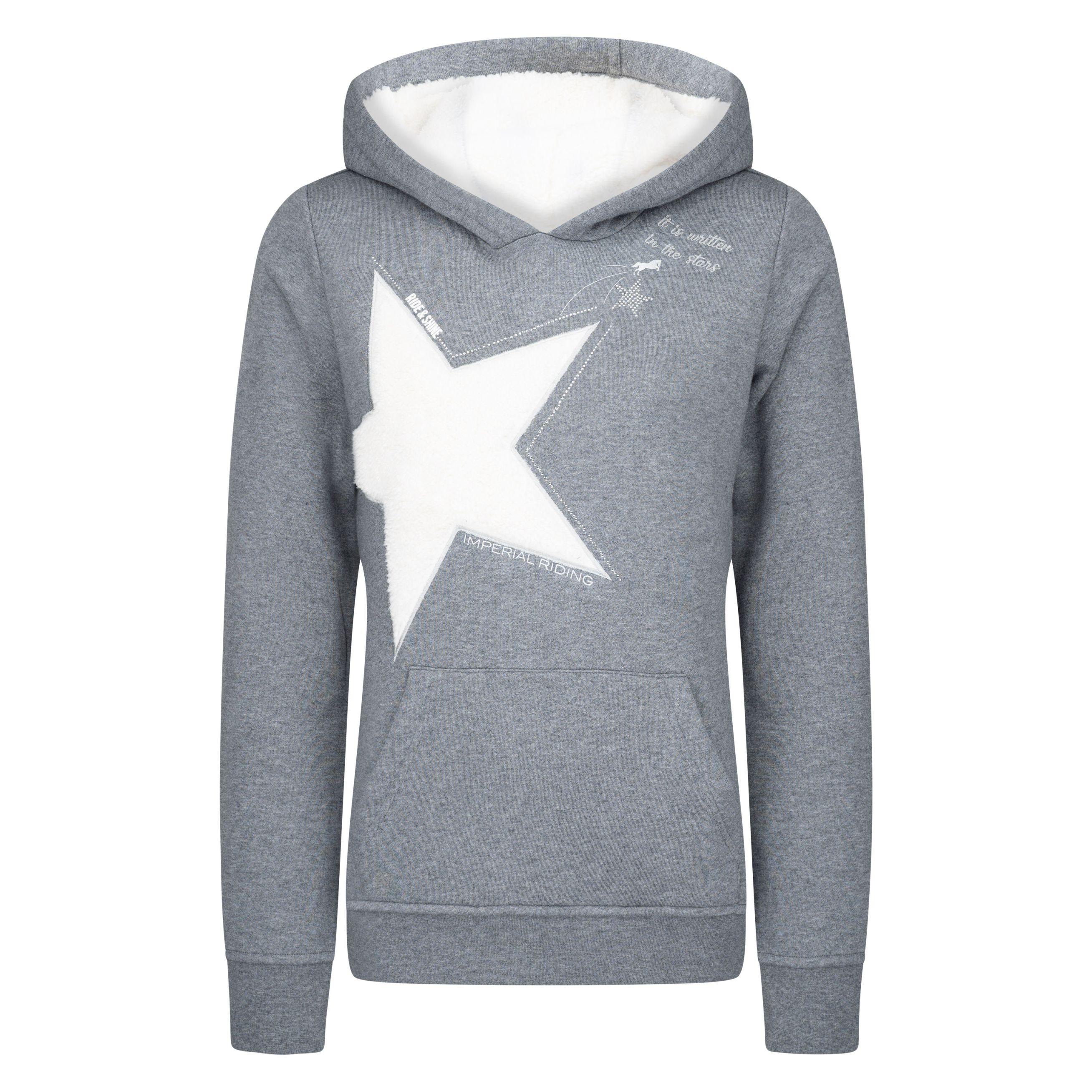 Imperial Riding sweater met capuchon IRH-'frozen star'