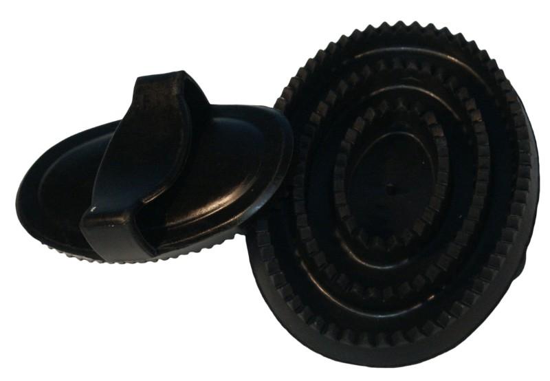 Hofman Paarden massage rubber ovaal fijn 15 cm