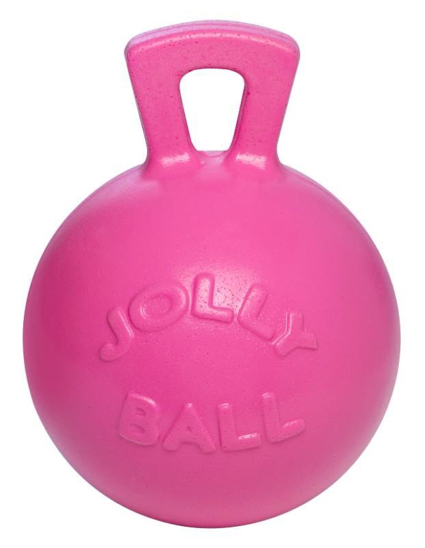 """Hofman Speelbal Jolly Ball 10"""" Pink Bubble Gum"""