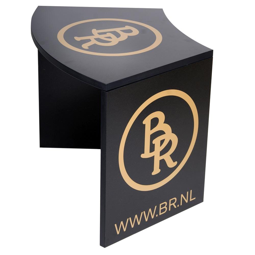 Schoenenkrukje BR hout zwart
