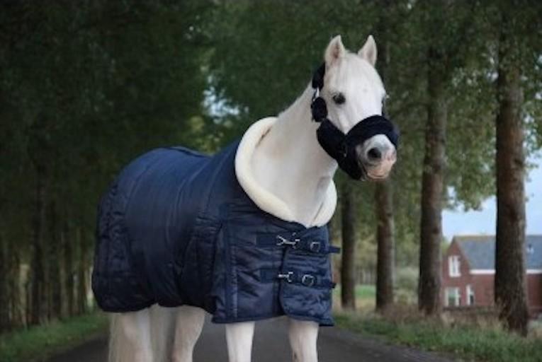 HB Showdeken 'fluffy hood'