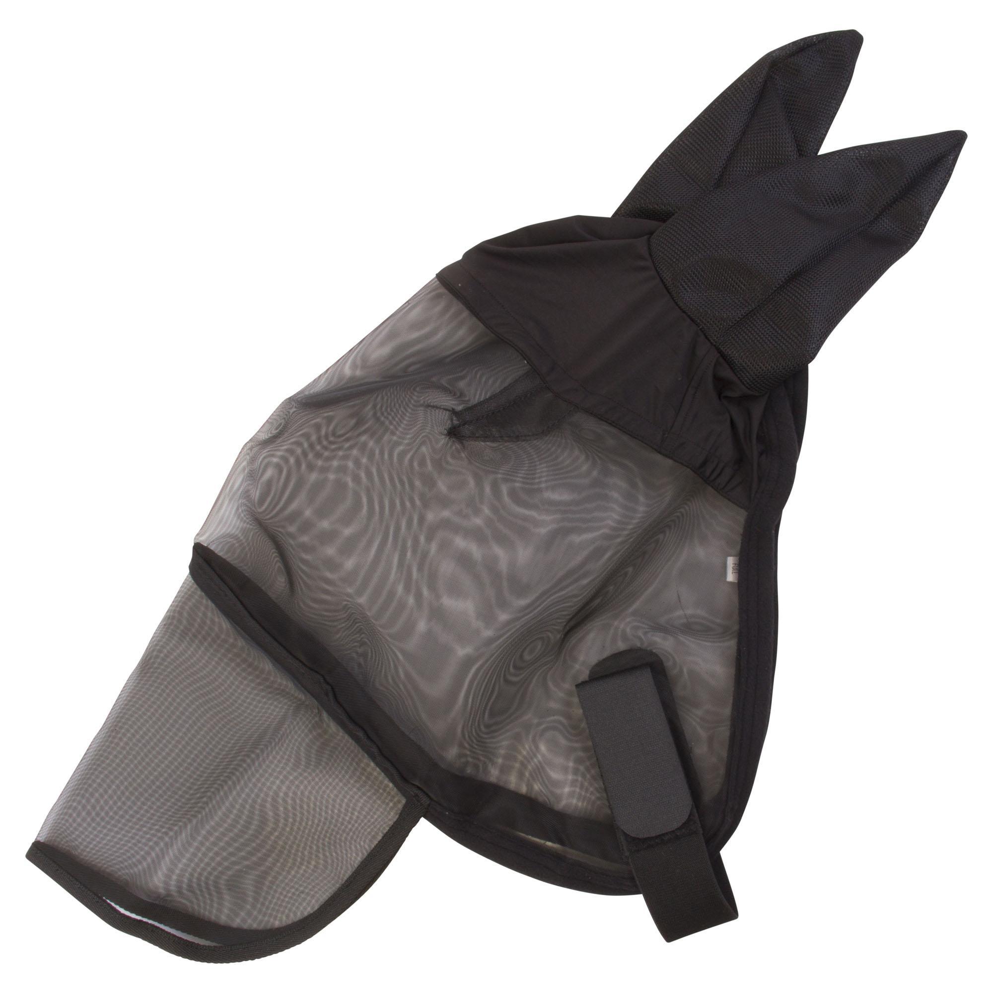 Imperial Riding Vliegenmasker met oren en neusflap