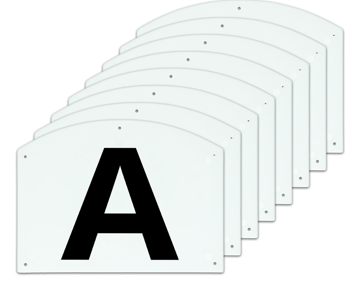Hofman Dressage manege letters