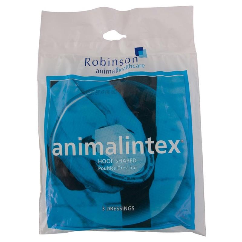 BR Animalintex Hoof Shaped Robinson