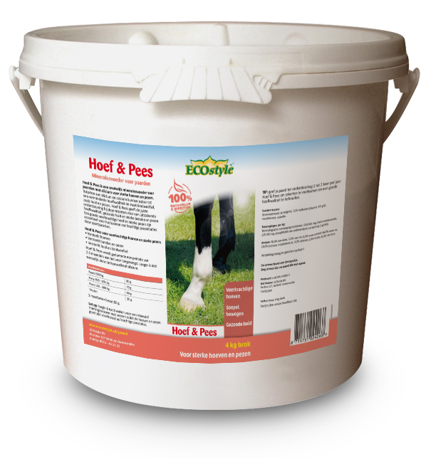 Sectolin Hoef & Pees - Ecostyle 4 kg