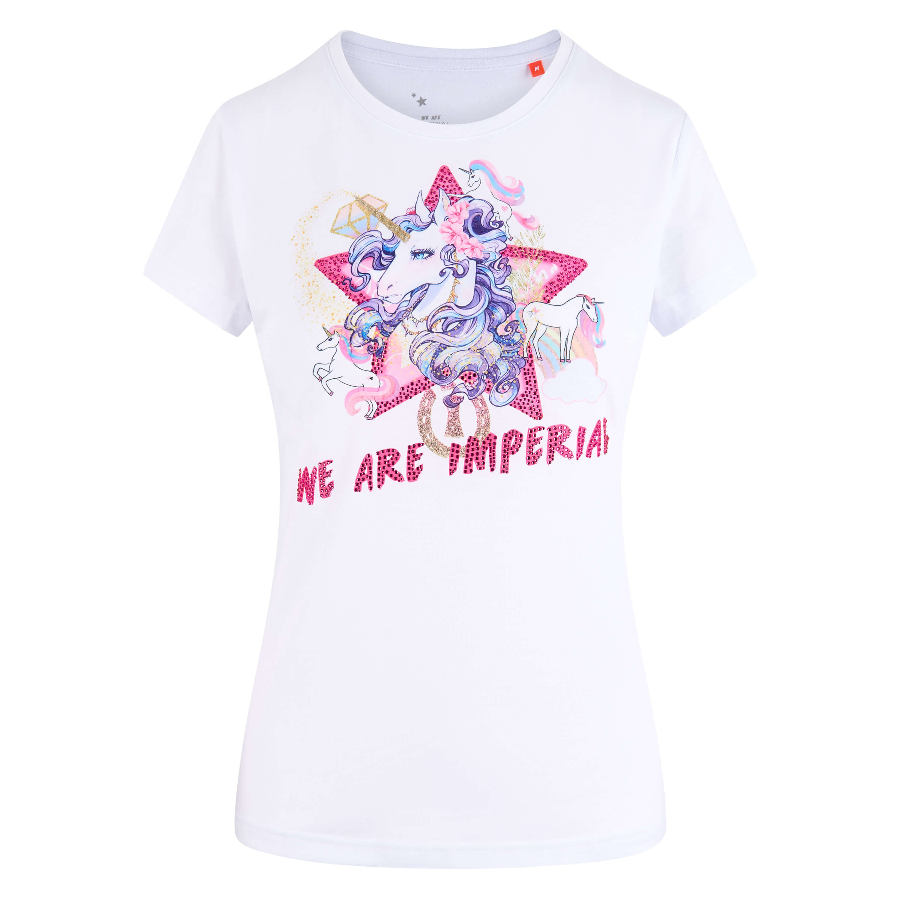 Imperial Riding Grappig t-shirt Happy Unicorn