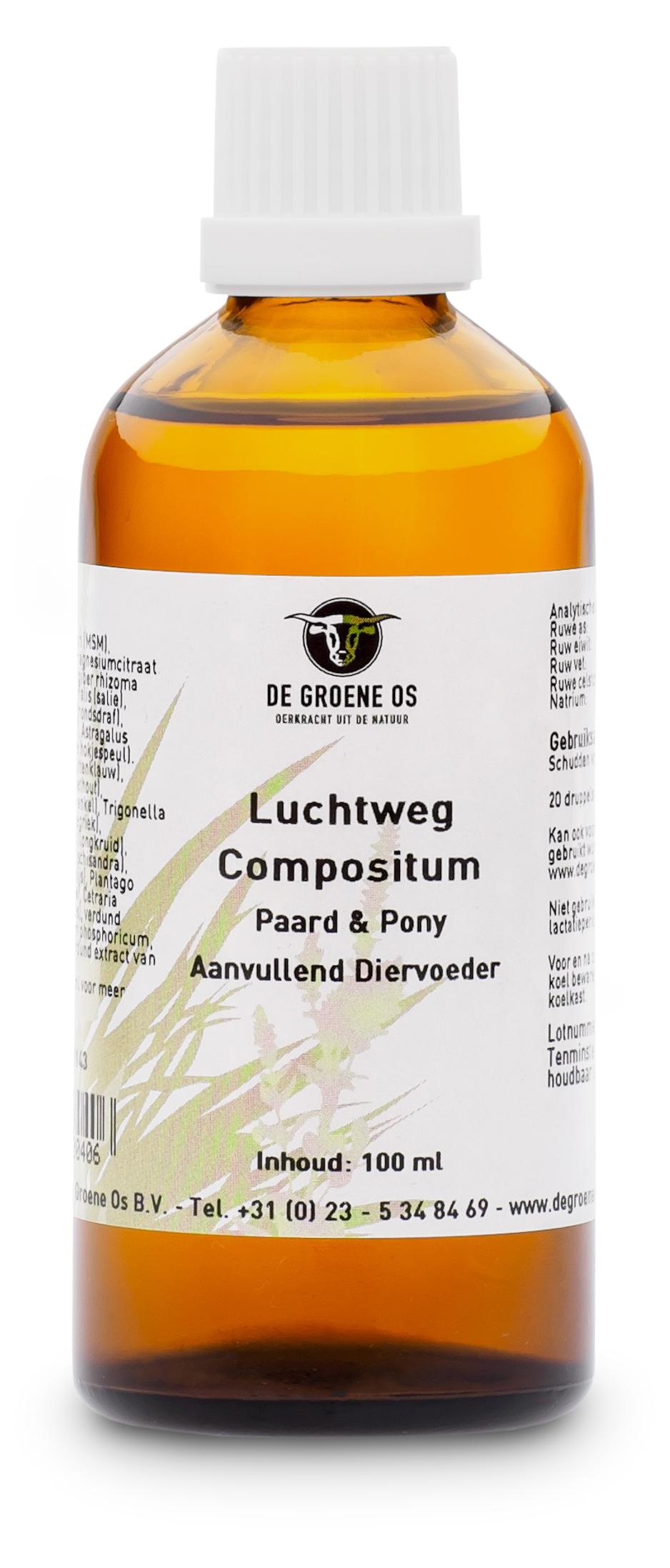 Sectolin Luchtweg Compositum Paard & Pony - De Groene Os 100 ml