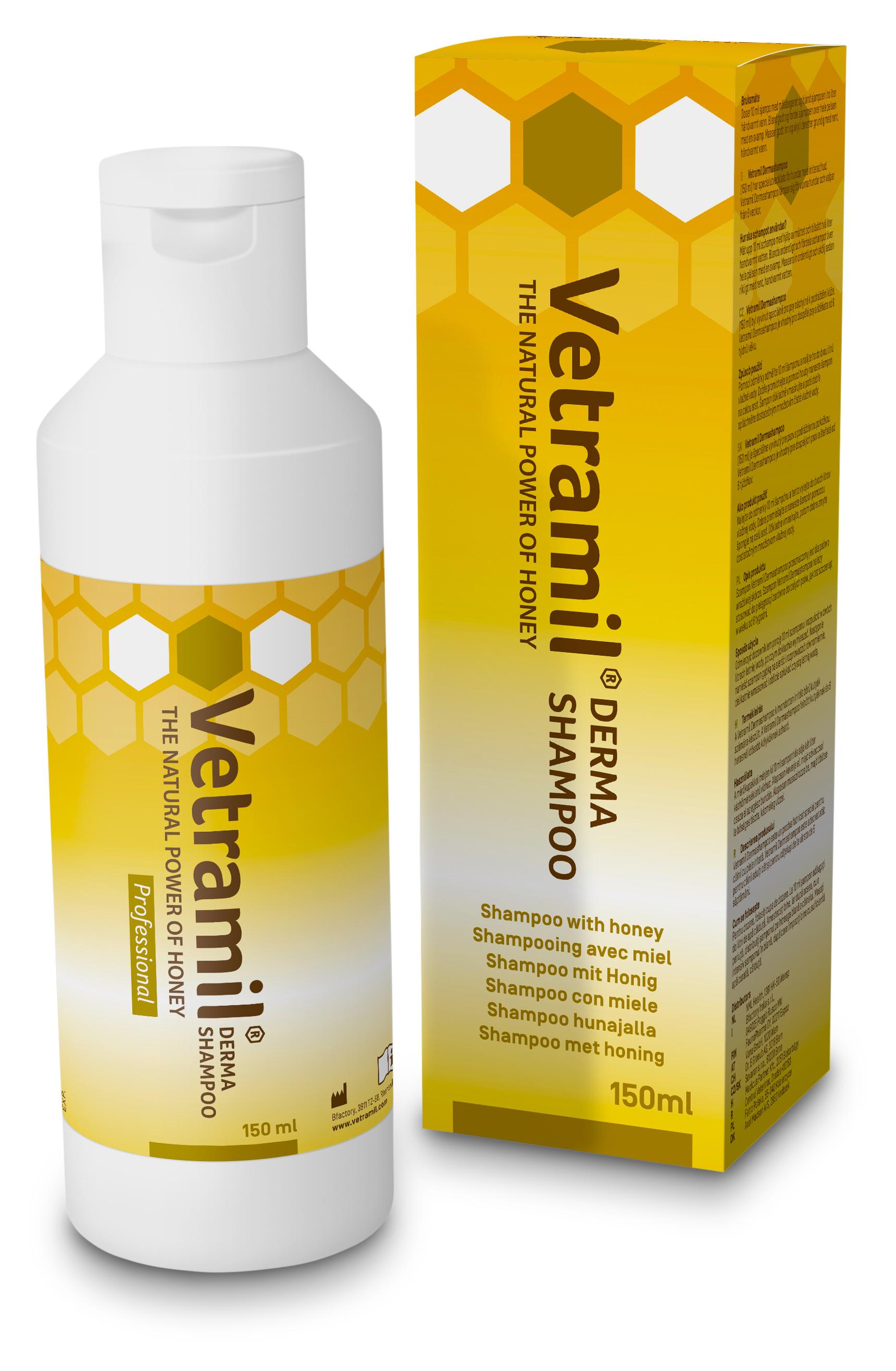 Sectolin Vetramil Derma Shampoo (P/H/K)