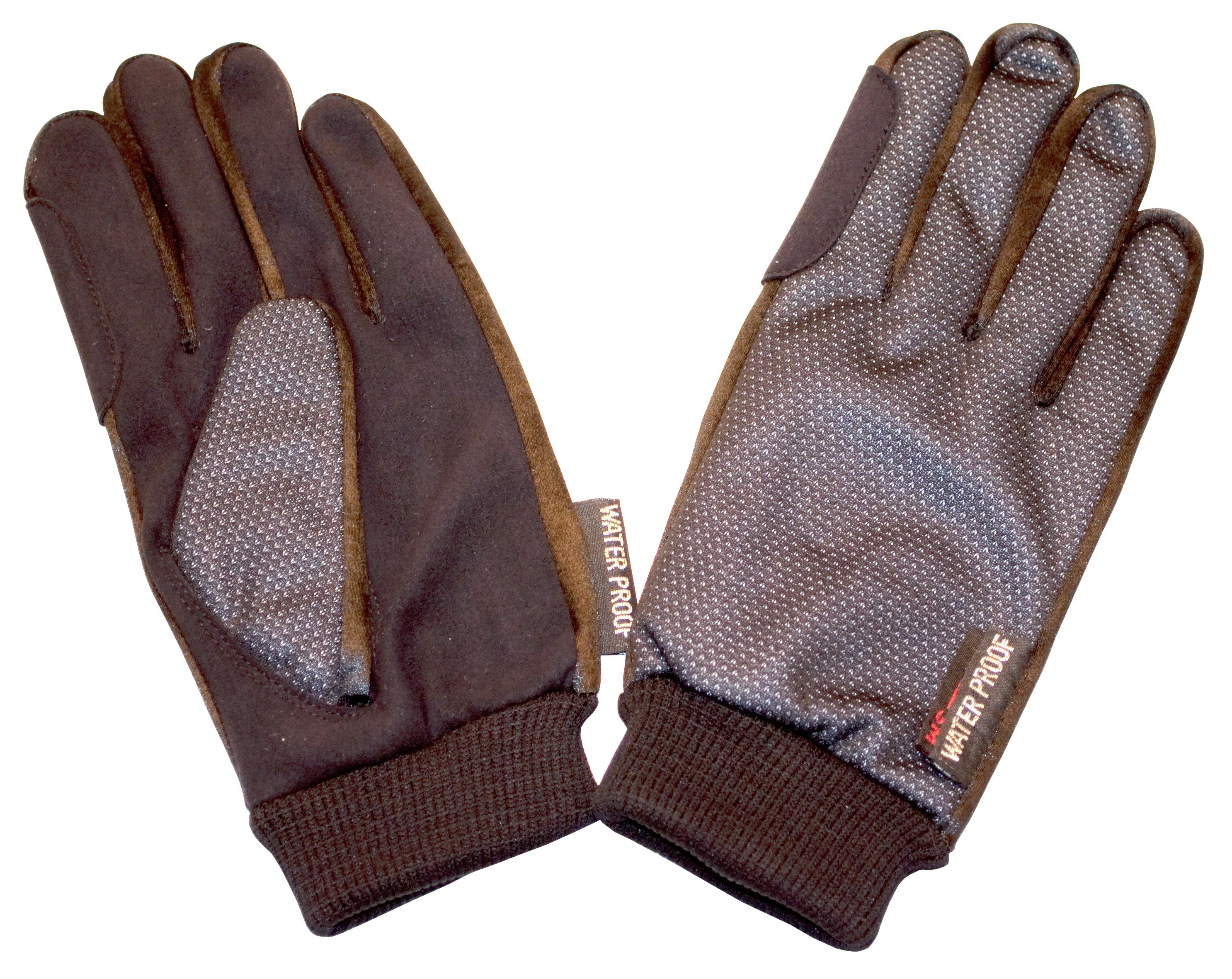 Imperial Riding Gevoerde handschoenen met boord