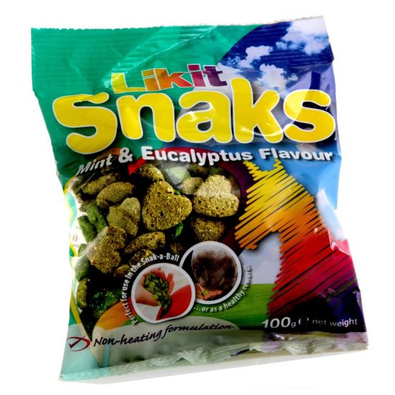 Likit Snaks Mint/Eucalyptus 100 g