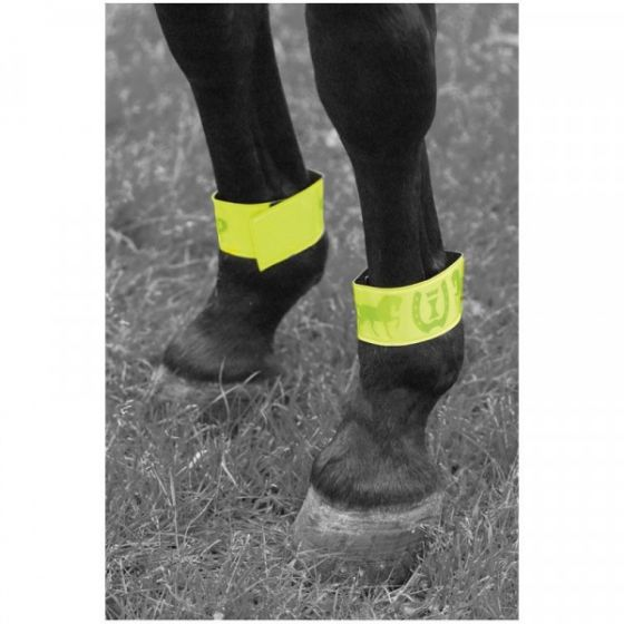 Imperial Riding Reflective bandage met klittenband 33cm