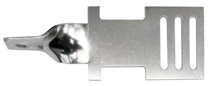 Hofman Lint begin- en eindplaatje aluminium