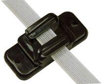 Hofman Isolator Lint/koord/draad Zwart tot 20 mm