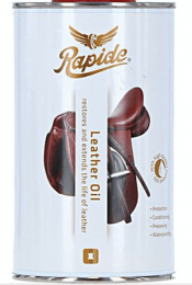 Sectolin Leather-oil Bruin - Rapide NIEUW 750 ml