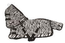 Harrys Horse Vliegendeken Zebra