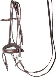 Harry's Horse Hoofdstel Luxe, rondgenaaid