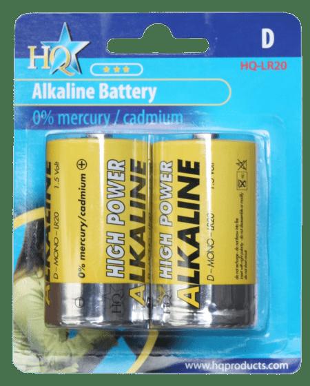 Hofman Batterij D Size Alkaline 1,5 V