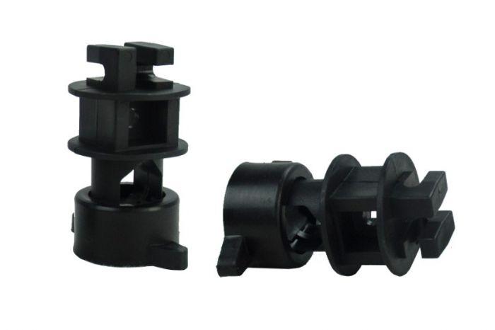 Hofman Isolator Schroef voor rondpaal ø 14mm, voor draad