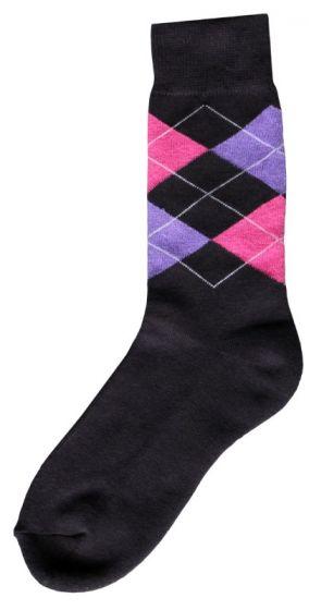 Hofman Ruitersok Grey/Purple 35/38
