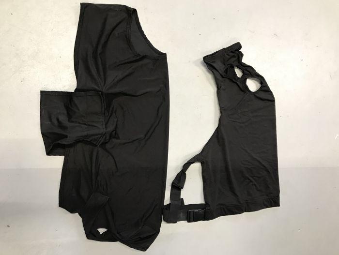 Lycra Body Set Zwart S