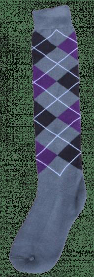 Excellent Kniekous RE grijs/zwart/paars  43-46