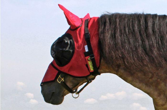 Hofman Horse Armor knockdown vliegen masker one size (Insect shield)
