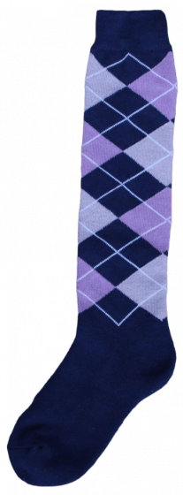 Excellent Kniekous RE d.blauw/lila/grijs    43-46