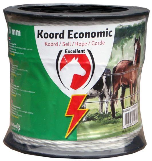 Hofman Koord Excellent Eco 200 m / 6 mm wit
