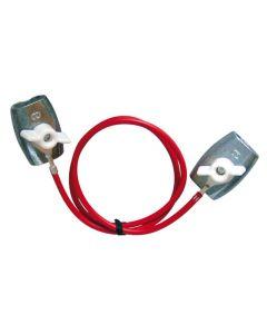 PFIFF Stroomverbindingskabel, verzinkt
