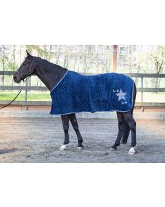 Harry's Horse Fleecedeken LouLou Ensign Blue