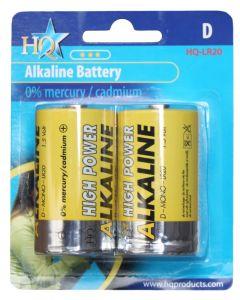 Hofman Batterij-set Alkaline size: D PestGarden